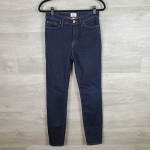 J Crew Lookout High Rise Skinny Size 28